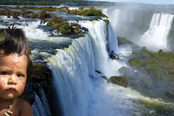 Brésil chutes d'Iguaçu